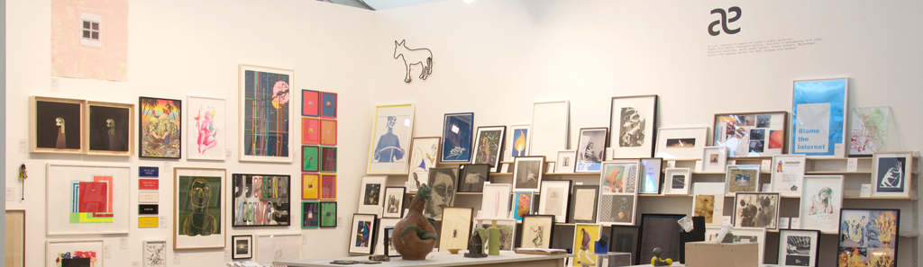 "Allied Editions stand at Frieze London 2015 <span class=""s1"">© Simon Jones</span>"